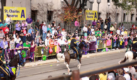 Image result for reviewing stand Mardi Gras